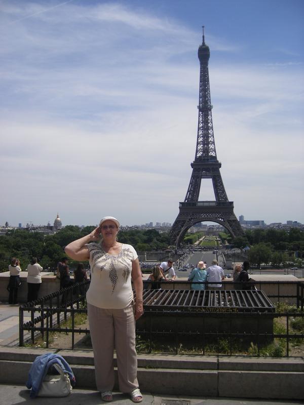 Я возле эйфелевой башни